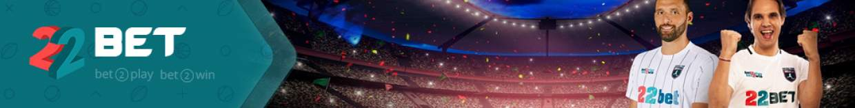 22Bet banner