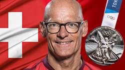 Heinz Frei 35ème médaille Jeux Paralympiques