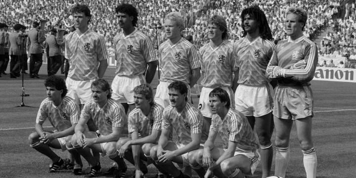 histoire euro football pays bas