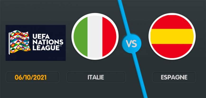 pronostic Italie Espagne Ligue des Nations